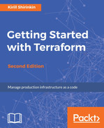 Cover of Getting Started with Terraform - Second Edition