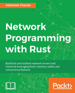 Cover of Network Programming with Rust