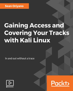 Gaining Access and Covering Your Tracks with Kali Linux