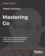 Cover of Mastering Go
