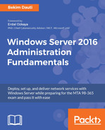 Cover of Windows Server 2016 Administration Fundamentals