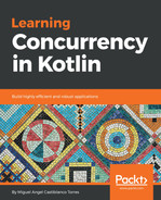 Cover of Learning Concurrency in Kotlin