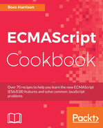 Cover of ECMAScript Cookbook