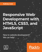 Cover of Responsive Web Development with HTML5, CSS3, and JavaScript