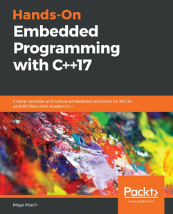 Hands-On Embedded Programming with C++17
