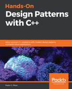 Cover of Hands-On Design Patterns with C++