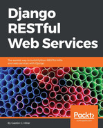 Cover of Django RESTful Web Services