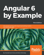 Cover of Angular 6 by Example