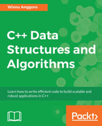 Cover of C++ Data Structures and Algorithms