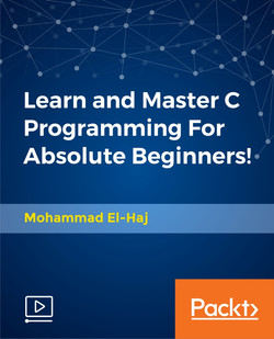 Learn and Master C Programming For Absolute Beginners!