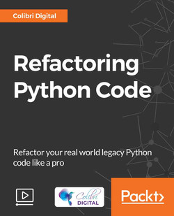 Refactoring Python Code