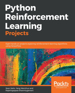 Cover of Python Reinforcement Learning Projects