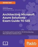 Cover of Architecting Microsoft Azure Solutions - Exam Guide 70-535