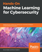 Cover of Hands-on Machine Learning for Cyber Security