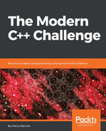 Cover of The Modern C++ Challenge