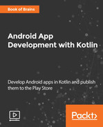Cover of Android App Development with Kotlin