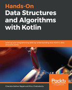 Cover of Hands-On Data Structures and Algorithms with Kotlin