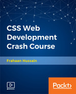 Cover of CSS Web Development Crash Course