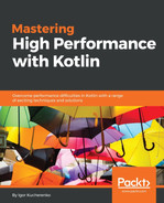 Cover of Mastering High Performance with Kotlin