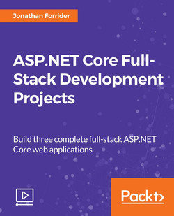 ASP.NET Core Full-Stack Development Projects