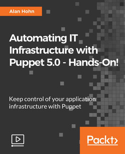 Automating IT Infrastructure with Puppet 5.0 - Hands-On!