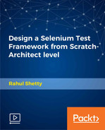 Cover of Design a Selenium Test Framework from Scratch-Architect level