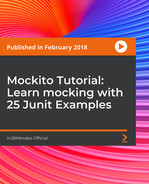 Cover of Mockito Tutorial : Learn mocking with 25 Junit Examples