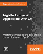 Cover of High Performance Applications with C++