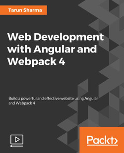 Web Development with Angular and Webpack 4