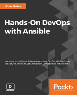 Hands-On DevOps with Ansible