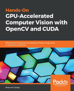 Cover of Hands-On GPU-Accelerated Computer Vision with OpenCV and CUDA