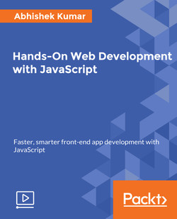 Hands-On Web Development with JavaScript
