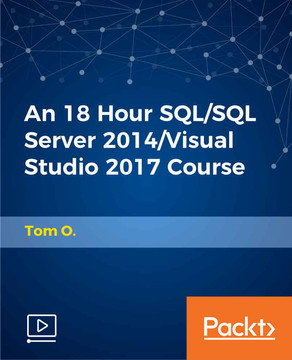 An 18 Hour SQL/SQL Server 2014/Visual Studio 2017 Course