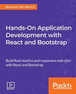 Hands-On Application Development with React and Bootstrap