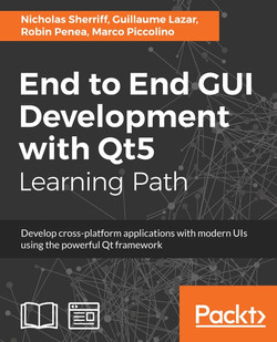 End to End GUI Development with Qt5