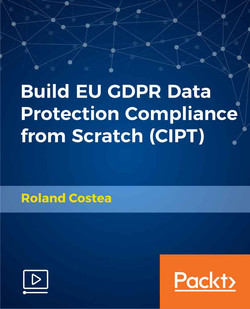 Build EU GDPR Data Protection Compliance from Scratch (CIPT)