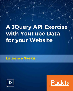 A JQuery API Exercise with YouTube Data for your Website