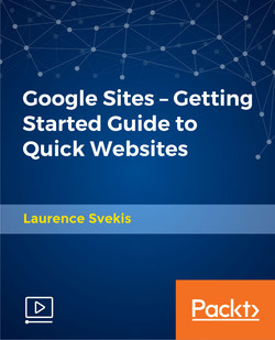 Google Sites - Getting Started Guide to Quick Websites