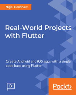 Real-World Projects with Flutter