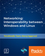 Cover of Networking: Interoperability between Windows and Linux