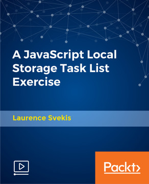 A JavaScript Local Storage Task List Exercise