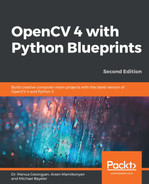 OpenCV 4 with Python Blueprints - Second Edition