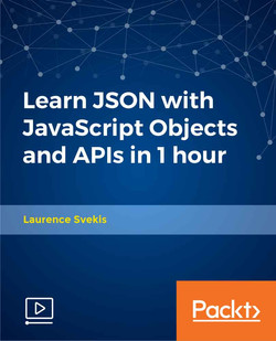 Learn JSON with JavaScript Objects and APIs in 1 hour