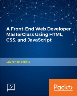 A Front-End Web Developer MasterClass Using HTML, CSS, and JavaScript
