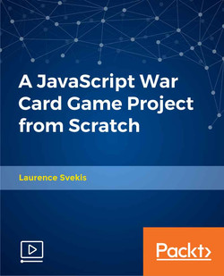 A JavaScript War Card Game Project from Scratch