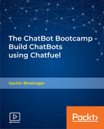 Cover of The ChatBot Bootcamp - Build ChatBots using Chatfuel