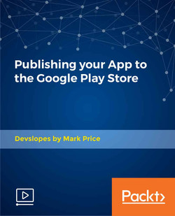 Publishing your App to the Google Play Store