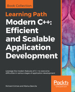 Cover of Modern C++: Efficient and Scalable Application Development