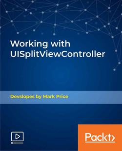 Working with UISplitViewController