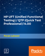 Cover of HP UFT (Unified Functional Testing) / QTP (Quick Test Professional) 14.00